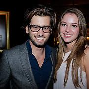NLD/Amsterdam/20121108 - Premiere Palazzo 2012, Ruud Feltkamp en partner Michelle
