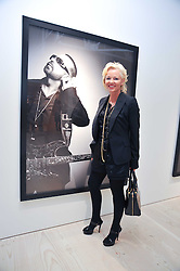 AMANDA ELIASCH at an exhibition of photographic portraits by Bryan Adams entitled 'Hear The World' at The Saatchi Gallery, King's Road, London on 21st July 2009.