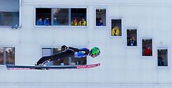 31.12.2017, Olympiaschanze, Garmisch Partenkirchen, GER, FIS Weltcup Ski Sprung, Vierschanzentournee, Garmisch Partenkirchen, Training, im Bild Jernej Damjan (SLO) // Jernej Damjan of Slovenia during his Practice Jump for the Four Hills Tournament of FIS Ski Jumping World Cup at the Olympiaschanze in Garmisch Partenkirchen, Germany on 2017/12/31. EXPA Pictures © 2017, PhotoCredit: EXPA/ Jakob Gruber