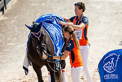 Den Dulk Nicole, NED, Wallace NOP<br /> World Equestrian Games - Tryon 2018<br /> © Hippo Foto - Sharon Vandeput<br /> 21/09/2018