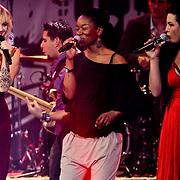 NLD/Amsterdam/20100415 - Uitreiking 3FM Awards 2010, Jacqueline Govaert en Caro Emerald