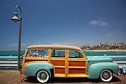 Woodie Classic Car Exhibit San Clemente California
