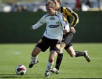 Fotball / Football<br /> La Manga Cup 2007 - Spain<br /> 23.02.2007<br /> Rosenborg v KR Reykjavik Island 1-0<br /> Foto: Morten Olsen, Digitalsport<br /> <br /> Øyvind Storflor - RBK