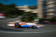 May 25-29, 2016: Monaco Grand Prix. Pascal Wehrlein (GER), Manor
