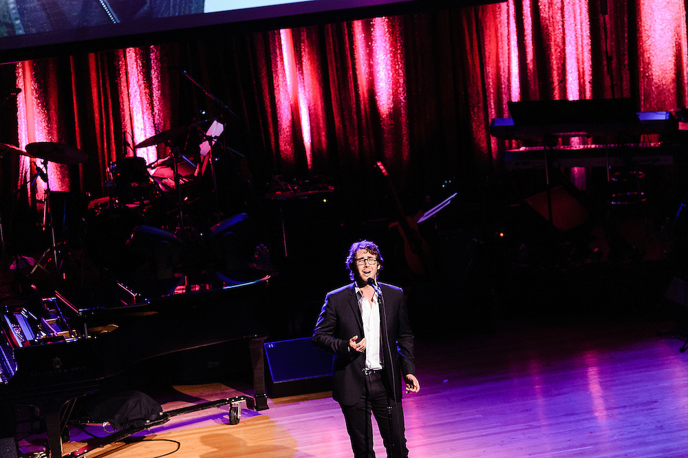 Photos of Josh Groban at the Phil Ramone Music Memorial Celebration concert event at Salvation Army Theater, NYC. May 11, 2013. Copyright © 2013 Matthew Eisman. All Rights Reserved