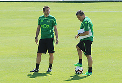 July 12, 2018 - Na - Nyon, 12/07/2018 - Sporting Clube de Portugal trained this morning during their pre-season training session in Switzerland at the Colovray Sports Center in Nyon. Daniel Correia  (Credit Image: © Atlantico Press via ZUMA Wire)