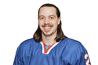 BUDAPEST, HUNGARY - APRIL 18:  Great Britain Ice Hockey Team Defenseman, Dallas Ehrhardt. IIHF World Championship Division 1A (Photo by Dean Woolley)