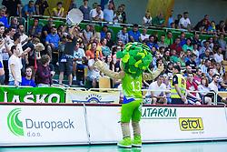 Lipko during basketball match between KK Zlatorog and KK Helios Suns in 1st match of Nova KBM Slovenian Champions League Final 2015/16 on May 29, 2016  in Dvorana Zlatorog, Lasko, Slovenia.  Photo by Ziga Zupan / Sportida