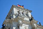 Germany, Berlin, Reichstag building - Detail