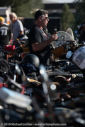 Motorcycle Cannonball coast to coast vintage run. Stage 10 (299 miles) from Sturgis, SD to Billings, MT. Tuesday September 18, 2018. Photography ©2018 Michael Lichter.