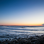 Today's clear Winter Sunrise  at Narragansett Town Beach, Narragansett, RI,  February  1, 2013. Photo: Tripp Burman