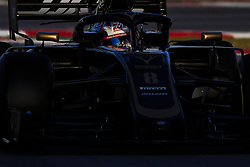 February 18, 2019 - Barcelona, Barcelona, Spain - Romain Grosjean from France with 08 Rich Energy Haas F1 Team in action during the Formula 1 2019 Pre-Season Tests at Circuit de Barcelona - Catalunya in Montmelo, Spain on February 18. (Credit Image: © Xavier Bonilla/NurPhoto via ZUMA Press)
