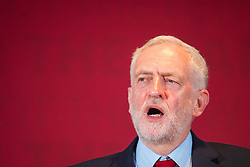 Labour leader Jeremy Corbyn launches the party's race and faith manifesto at an event in Watford.