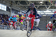 #11 (WILLOUGHBY Alise) USA at Round 2 of the 2019 UCI BMX Supercross World Cup in Manchester, Great Britain