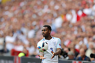 Danny Rose of England prepares for a throw-in. UEFA Euro 2016, group B , England v Wales at Stade Bollaert -Delelis  in Lens, France on Thursday 16th June 2016, pic by  Andrew Orchard, Andrew Orchard sports photography.