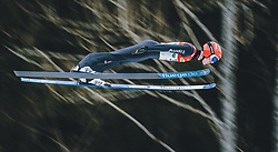 16.02.2020, Kulm, Bad Mitterndorf, AUT, FIS Ski Flug Weltcup, Kulm, Herren, 1. Wertungsdurchgang, im Bild Pius Paschke (GER) // Pius Paschke of Germany during his 1st Competition Jump for the men's FIS Ski Flying World Cup at the Kulm in Bad Mitterndorf, Austria on 2020/02/16. EXPA Pictures © 2020, PhotoCredit: EXPA/ Dominik Angerer