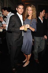 KATE MELHUISH and JACK FREUD at the Tatler magazine Summer Party, Home House, Portman Square, London W1 on 27th June 2007.<br />