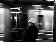 Downtown Train - New York City, U.S.A.