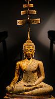 France, Paris (75), Musée Guimet, Bouddha Maravijaya, Thailande, 19e siecle // France, Paris, Guimet museum, Maravijaya Buddha, Thailand, 19th century