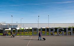 Edinburgh International Airport, Lothian, Scotland, United Kingdom.