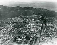 1925 Aerial photo of Barnsdall Park and Los Feliz