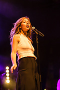 Brooklyn, NY – 7 June 2017. Brooklyn-based Lake Street Dive opened the 2017 season of the BRIC Celebrate Brooklyn! Festival at the Prospect Park Bandshell to a packed venue. The band features Rachel Price on lead vocals.