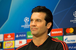 February 12, 2019 - Amsterdam, Netherlands - Solari of Real Madrid CF pictured during the press conference before UEFA Champions League match playoff 1/8 finals game between Ajax Amsterdam and Real Madrid at Johan Cruyff Arena on February 12, 2019 in Amsterdam, Netherlands. (Credit Image: © Federico Guerra Moran/NurPhoto via ZUMA Press)