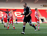 """Photo: Paul Thomas.<br /> Doncaster Rovers v Swansea City. Coca Cola League 1. 17/02/2007.<br /> <br /> Lee Trundle of Swansea celebrates his """"penalty"""" goal."""