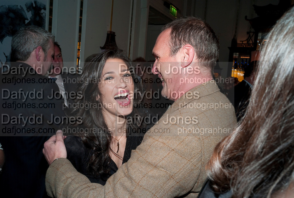 FATIMA BHUTTO; A.A. GILL, Henry Porter hosts a launch for Songs of Blood and Sword by Fatima Bhutto. The Artesian at the Langham London. Portland Place. 15 April 2010.