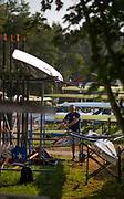 Linz, Austria, Saturday,  31st Aug 2019, FISA World Rowing Championship, Boat Park Area, [Mandatory Credit; Peter SPURRIER/Intersport Images]<br /> <br /> 08:40:00  31.08.19