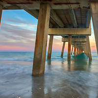 South Florida photography of Juno Pier Fishing Pier and beach at sunset. This pier is located in Palm Beach County, FL. <br /> Florida Piers photography images are available as museum quality photography prints, canvas prints, acrylic prints or metal prints. Fine art prints may be framed and matted to the individual liking and decorating needs:<br /> <br /> https://juergen-roth.pixels.com/featured/florida-sunset-at-juno-beach-pier-juergen-roth.html<br /> <br /> All Juno Beach Pier Florida photography pictures available for digital and print image licensing at www.RothGalleries.com. Please contact me direct with any questions or request.<br /> <br /> Good light and happy photo making!<br /> <br /> My best,<br /> <br /> Juergen<br /> Prints: http://www.rothgalleries.com<br /> Photo Blog: http://whereintheworldisjuergen.blogspot.com<br /> Instagram: https://www.instagram.com/rothgalleries<br /> Twitter: https://twitter.com/naturefineart<br /> Facebook: https://www.facebook.com/naturefineart