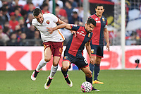 Kevin Strootman Roma, Tomas Rincon Genoa <br /> Genova 02-05-2016 Football Calcio Serie A 2015/2016  Genoa - AS Roma foto Image Sport/Insidefoto