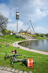 Olympic Park in Munich Bavaria Germany