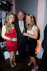MICHAEL BUERK and Guests at the presentation of the Veuve Clicquot Business Woman Award 2010 held at the Institute of Contemporary Arts, 12 Carlton House Terrace, London on 23rd March 2010.  The winner was Laura Tenison - Founder and Managing Director of JoJo Maman Bebe.