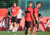 ARLAMOW, POLAND - MAY 31: Kamil Glik during a training session of the Polish national team at Arlamow Hotel during the second phase of preparation for the 2018 FIFA World Cup Russia on May 31, 2018 in Arlamow, Poland. (MB Media)