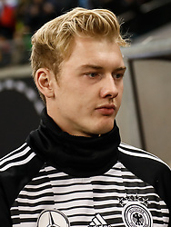 November 15, 2018 - Leipzig, Germany - Julian Brandt of Germany looks on during the international friendly match between Germany and Russia on November 15, 2018 at Red Bull Arena in Leipzig, Germany. (Credit Image: © Mike Kireev/NurPhoto via ZUMA Press)