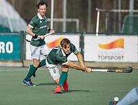 WASSENAAR - JJeroen Hertzberger (Rotterdam)  tijdens de hoofdklasse competitiewedstrijd heren, HGC-HC ROTTERDAM (0-7) .     COPYRIGHT  KOEN SUYK