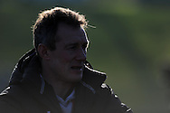 Wales caretaker coach Rob Howley. Wales rugby training and press conference at the Vale resort, Hensol near Cardiff, South Wales on Tuesday 19th Feb 2013. The team are training ahead of their forthcoming RBS Six nations match in Italy. pic by Andrew Orchard, Andrew Orchard sports photography,