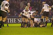 Twickenham, Surrey, 11th November 2002, Zurich Premiership Rugby, Stoop Memorial Ground, England,<br /> [Mandatory Credit: Peter Spurrier/Intersport Images],Zurich Premiership Rugby Harlequins v Saracens,