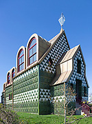 Julie's House, House for Essex, by Charles Holland and Grayson Perry, Wrabness, Essex, England, UK