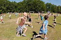Elm Street School Alice in Wonderland themed Field Day events  June 21, 2011.