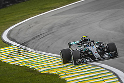 November 9, 2018 - Sao Paulo, Brazil - 77 BOTTAS Valtteri (fin), Mercedes W09 Hybrid EQ Power+ team Mercedes GP, action during the 2018 Formula One World Championship, Brazil Grand Prix from November 08 to 11 in Sao Paulo, Brazil -  FIA Formula One World Championship 2018, Grand Prix of Brazil World Championship;2018;Grand Prix;Brazil  (Credit Image: © Hoch Zwei via ZUMA Wire)