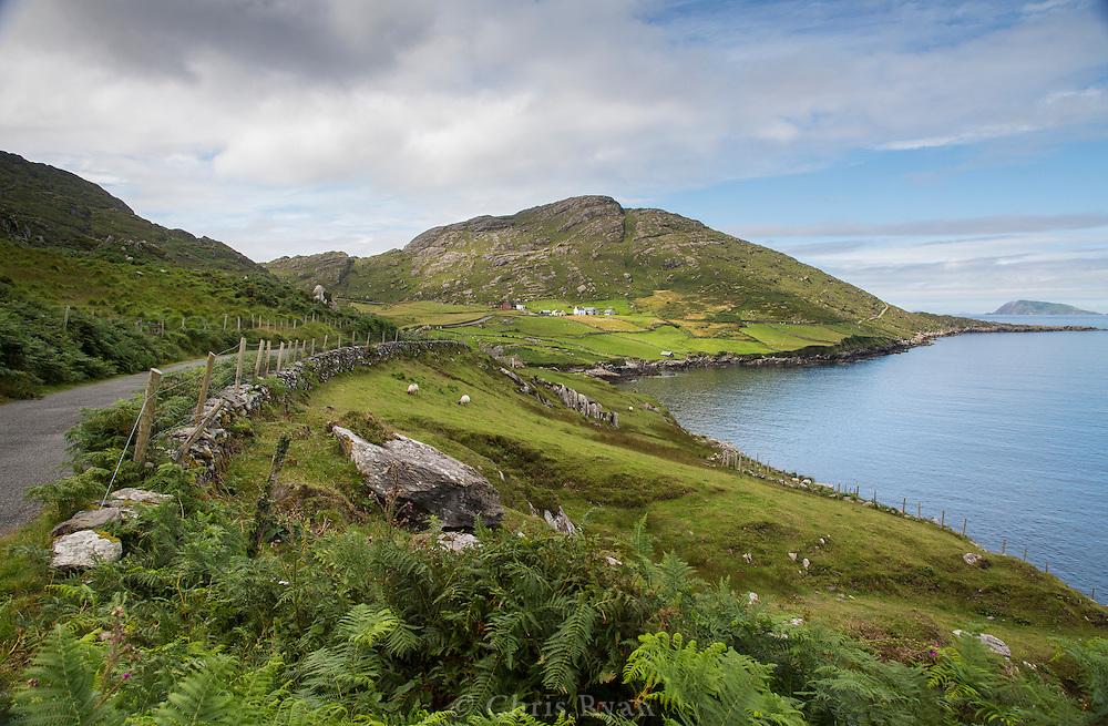 View from the road around the Beara Peninsula, Ireland