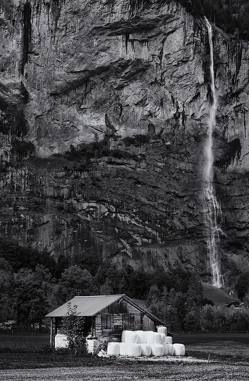 Switzerland - Staubbach waterfall