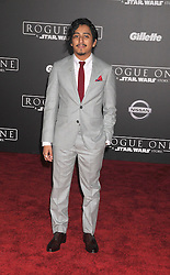 December 10, 2016 - Los Angeles, California, United States - December 10th 2016 - Los Angeles California USA - Actor TONY REVOLARI   at the World Premiere for ''Rogue One Star Wars'' held at the Pantages Theater, Hollywood, Los Angeles  CA (Credit Image: © Paul Fenton via ZUMA Wire)