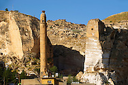 Ayyubid El Rizk Mosque ancinet citadel & Artukid Little Palace of Hasankeyf– The Mosque was built in 1409 by the Ayyubid sultan Süleyman and stands on the bank of the Tigris River. It has Kufic incriptions & decorations. Turkey 4 .<br /> <br /> If you prefer to buy from our ALAMY PHOTO LIBRARY  Collection visit : https://www.alamy.com/portfolio/paul-williams-funkystock/hasankeyf-turkey.html<br /> <br /> Visit our PHOTO COLLECTIONS OF TURKEY HISTOIC PLACES for more photos to download or buy as wall art prints https://funkystock.photoshelter.com/gallery-collection/Pictures-of-Turkey-Turkey-Photos-Images-Fotos/C0000U.hJWkZxAbg