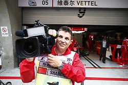 April 7, 2017 - Shanghai, China - Motorsports: FIA Formula One World Championship 2017, Grand Prix of AChina, .Kameramann  (Credit Image: © Hoch Zwei via ZUMA Wire)