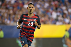 July 19, 2017 - Philadelphia, Pennsylvania, U.S - United States of America forward CLINT DEMPSEY (28) during CONCACAF Gold Cup 2017 quarterfinal action at Lincoln Financial Field in Philadelphia, PA.  USA  defeats El Salvador 2 to 0. (Credit Image: © Mark Smith via ZUMA Wire)