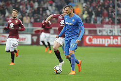 March 18, 2018 - Turin, Piedmont, Italy - Cyril Thereau (ACF Fiorentina) during the Serie A football match between Torino FC and ACF Fiorentina at Olympic Grande Torino Stadium on 18 March, 2018 in Turin, Italy. Final results: 1-2  (Credit Image: © Massimiliano Ferraro/NurPhoto via ZUMA Press)