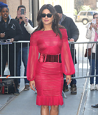 Priyanka Chopra seen coming out from the View TV Show - 20 March 2019